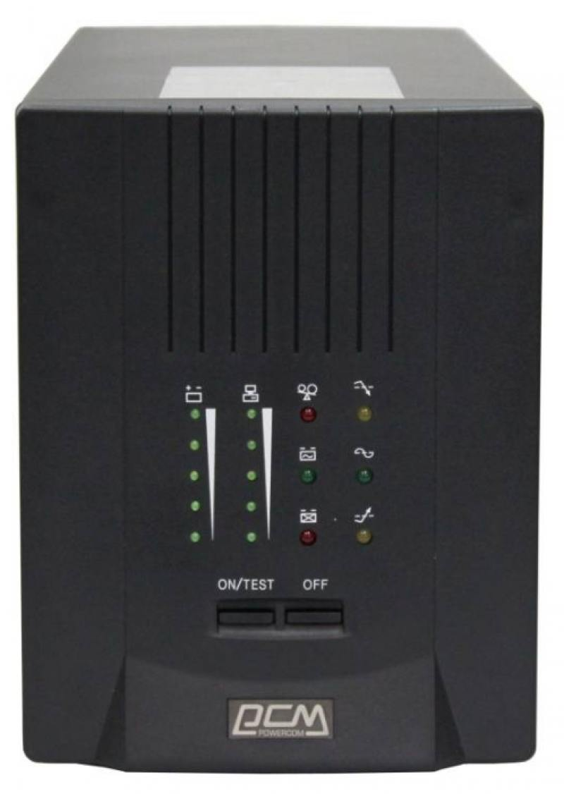 ИБП Powercom Smart King Pro+ SPT-700 490Вт 700ВА черный интерактивный источник бесперебойного питания powercom smart king pro spt 700