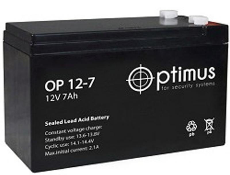 Батарея PowerCool Optimus OP1207 12V/7Ah