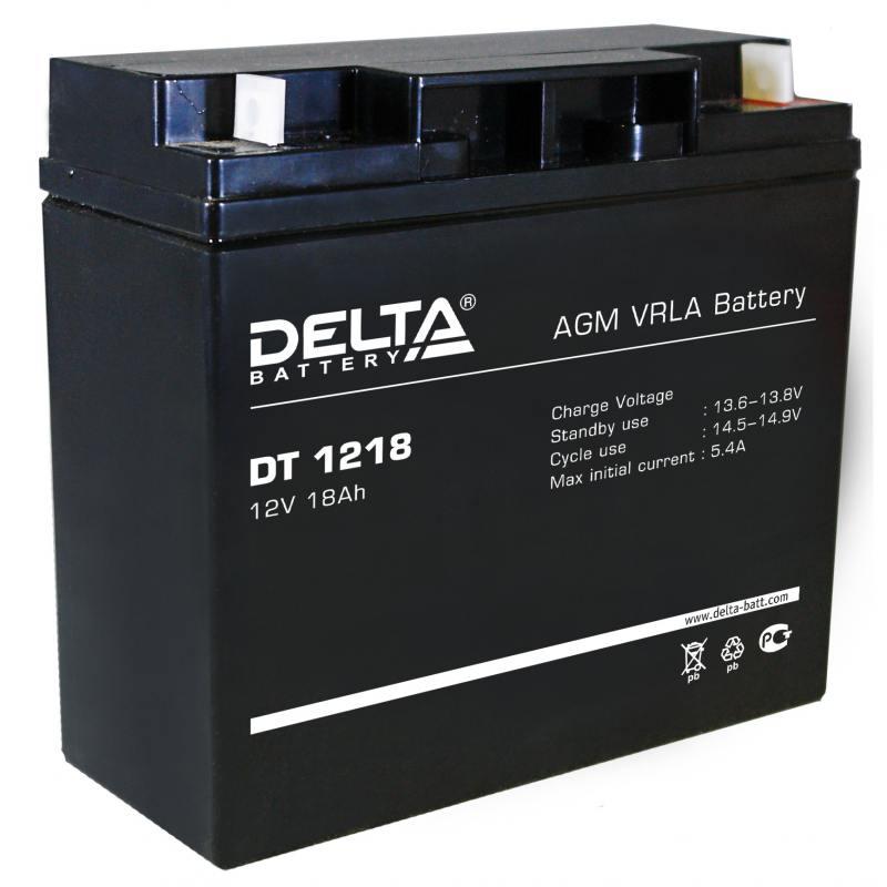 Батарея Delta DT 1218 18Ач 12B