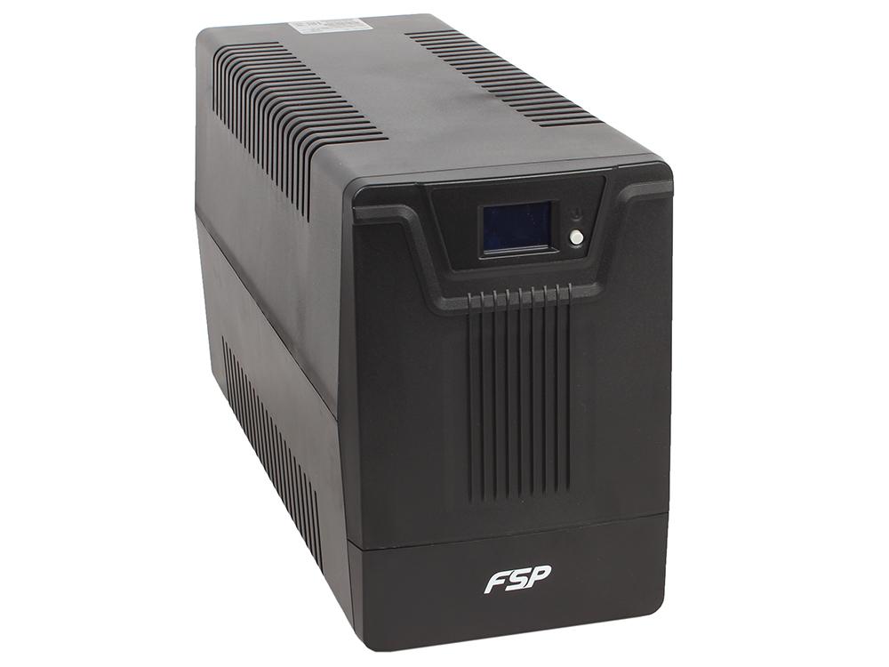 ИБП FSP DPV 1500 1500VA/900W (6 IEC) ибп cyberpower value1500eilcd 1500va 900w 6 iec