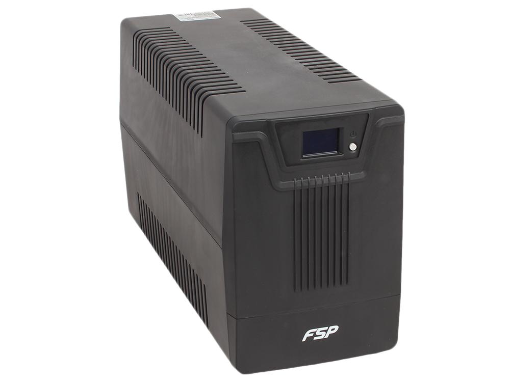 ИБП FSP DPV 2000 2000VA/1200W (6 IEC) ибп fsp aga 600 600va 360w 3 3 euro