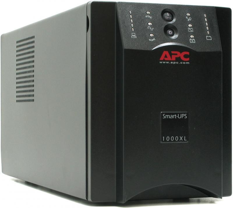 ИБП APC SMART 1000VA SUA1000XLI ибп apc smart ups smc1000i 1000va