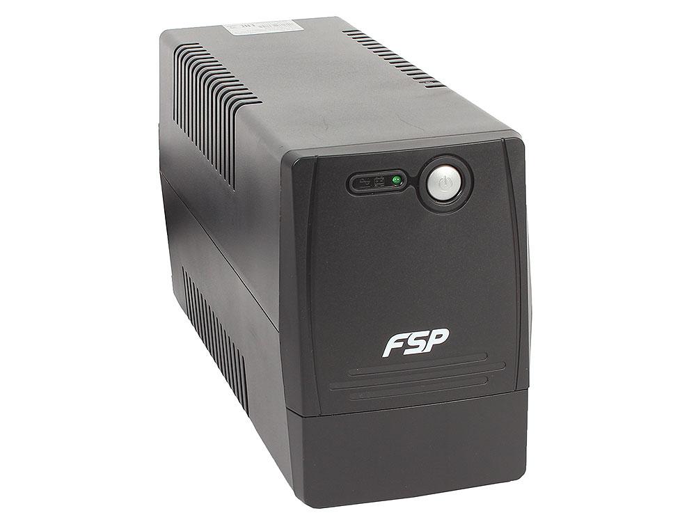 ИБП FSP DP 650 650VA/360W (2 EURO) ибп fsp dp 650 650va 360w 4 iec