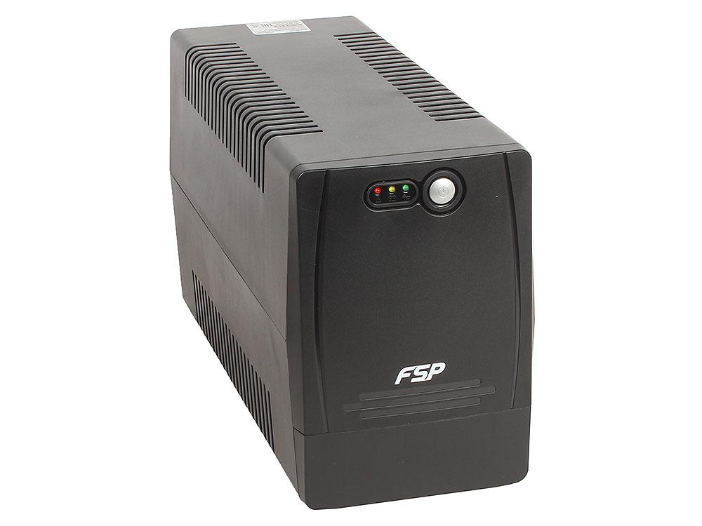 ИБП FSP DP 1000 1000VA/600W (4 EURO) ибп fsp dpv 1000 1000va 900w ppf6001001