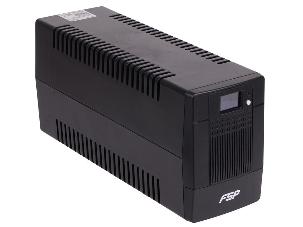 ИБП FSP DPV 650 650VA/360W LCD Display (2 EURO)