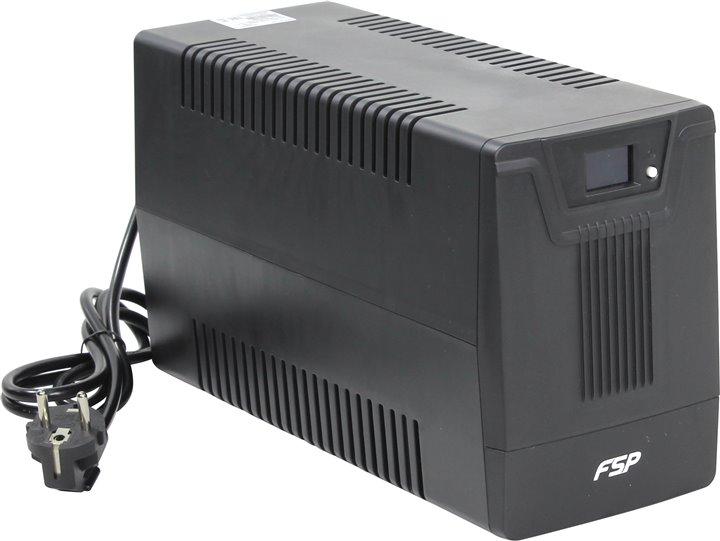 ИБП FSP DPV 1000 1000VA/600W LCD Display (4 EURO)