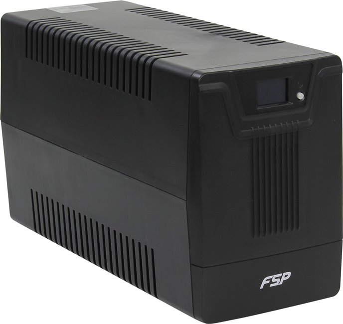 ИБП FSP DPV 2000 2000VA/1200W LCD Display (4 EURO) цена и фото