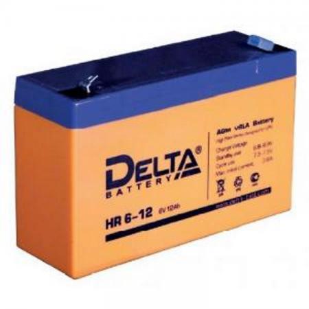 Батарея Delta HR 6-12 12Ач 6Bт new original dvp48eh00r3 delta plc eh3 series 100 240vac 24di 16do relay output