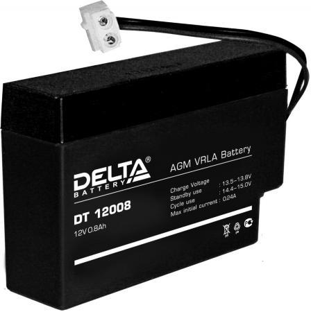 Батарея Delta DT 12008 0.8Ач 12B delta battery dt 1207 12v 7ah