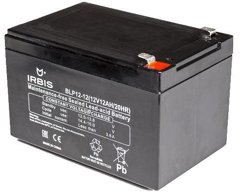 Батарея Irbis VRLA-AGM BLP12-12 12Ач 12B agm защищенный смартфон agm a8 mini black silver