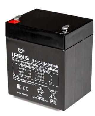 Батарея Irbis VRLA-AGM BLP12-5.0 5Ач 12B irbis atv250s в спб