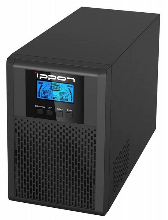 ИБП Ippon Innova G2 1000 1000VA/900W RS-232,USB (4 x IEC) ибп ippon smart power pro 1000 black 1000va 600w rs 232 usb 4 2 iec