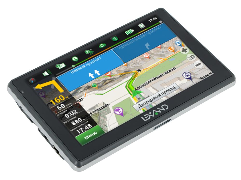 Портативный GPS навигатор LEXAND SA5 HD+