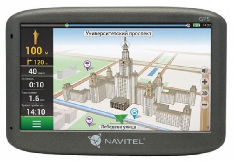 Навигатор Navitel N500 5 480x272 4GB 128MB microSD черный gps навигатор lexand cd5 hd 5 авто 4гб navitel 9 стран черный