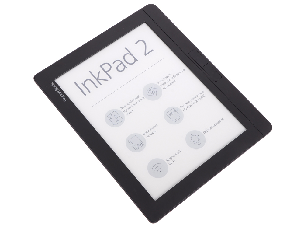 "Электронная книга PocketBook 840 InkPad 2 8"" E-Ink frontlight 1600x1200 capacitive touch 1Ghz 5"