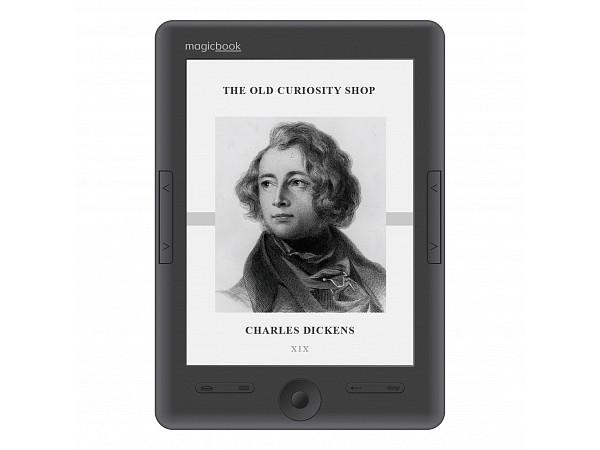 Электронная книга Gmini MagicBook S62HD Grey , экран 6