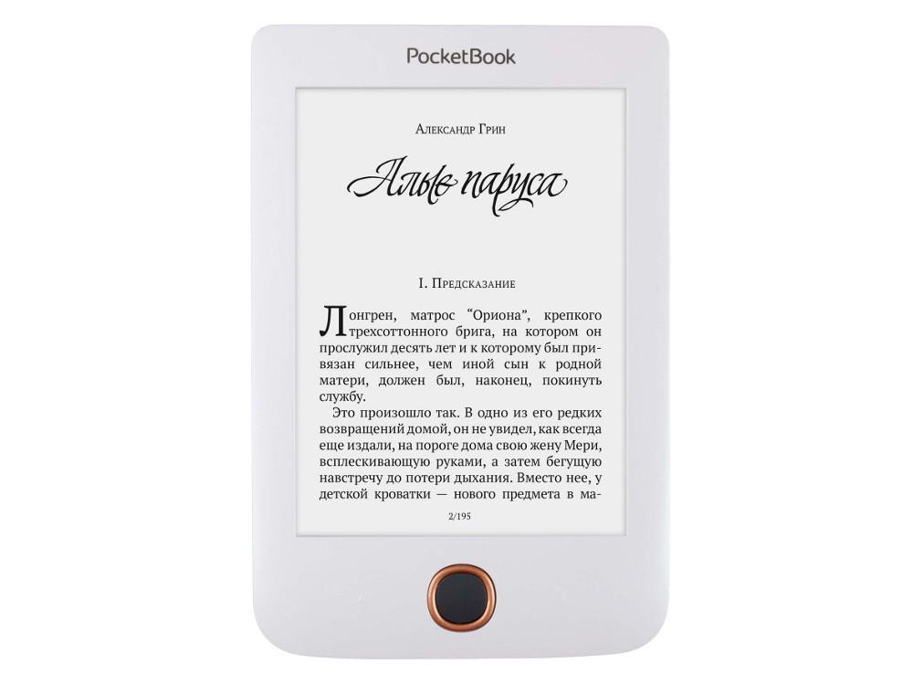 все цены на Электронная книга PocketBook 614 Plus, белый онлайн