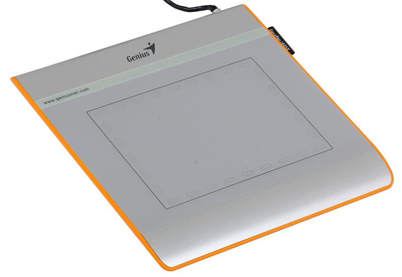 Графический планшет для рисования Genius EasyPen i405X рабочая зона: 4х5.5 дюймов, Стилус, Разрешение: 2560DPI, скорость: 100DPS, Горячих Клавиш: 28, графический планшет genius easypen i405x