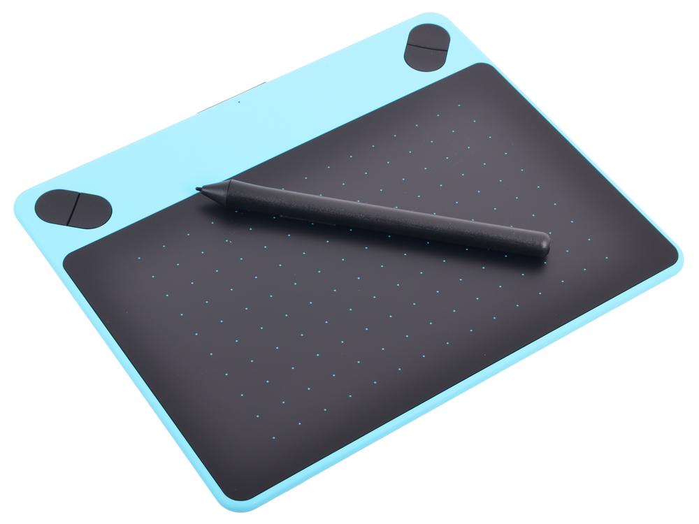 Графический планшет Wacom Intuos Draw Blue Pen S цвет мятно-голубой CTL-490DB-N от OLDI