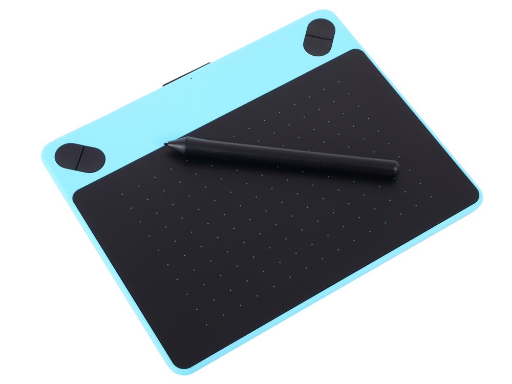 все цены на Графический планшет Wacom Intuos Comic Blue PT S мятно-голубой CTH-490CB-N онлайн