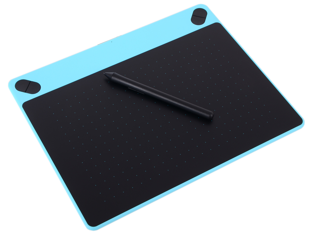 все цены на Графический планшет Wacom Intuos Art Blue PT M цвет мятно-голубой CTH-690AB-N онлайн