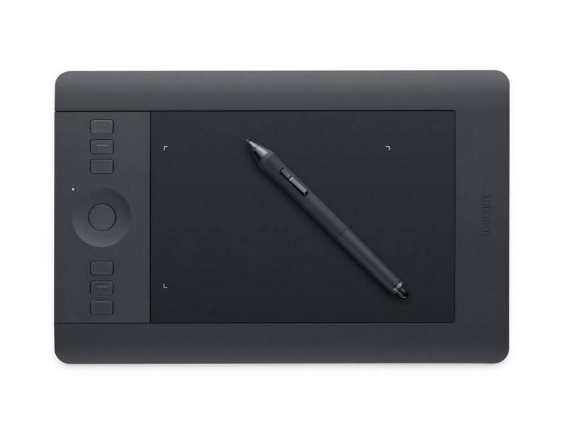 Графический планшет Wacom Intuos Pro PTH-451-RUPL USB черный
