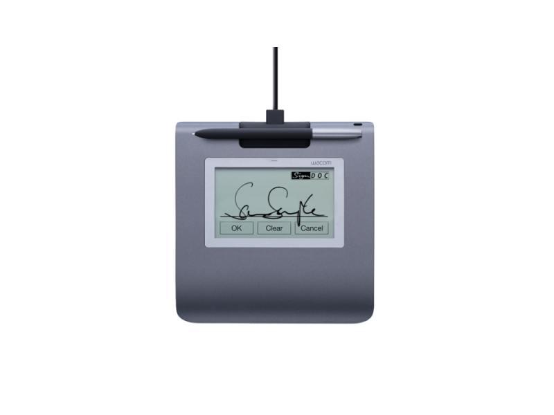 все цены на Графический планшет Wacom SignPad STU-430 для электронной подписи черный USB