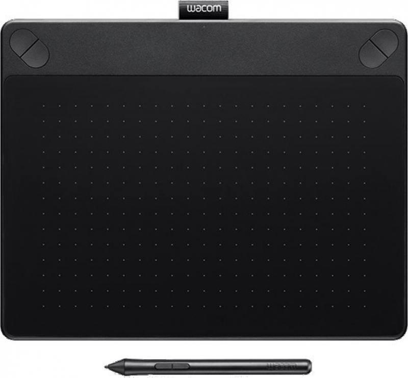 Графический планшет Wacom Intuos 3D черный CTH-690TK-N от OLDI