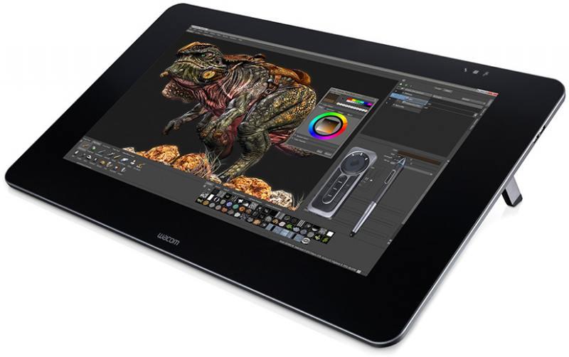 Графический планшет Wacom Cintiq 27QHD DTK-2700 черный USB