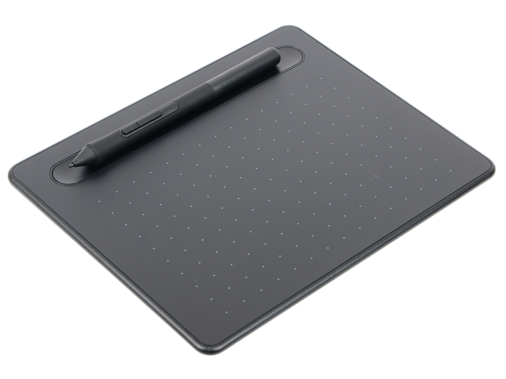 Графический планшет Wacom Intuos S черный (CTL-4100K-N) графический планшет wacom one by small ctl 472 n