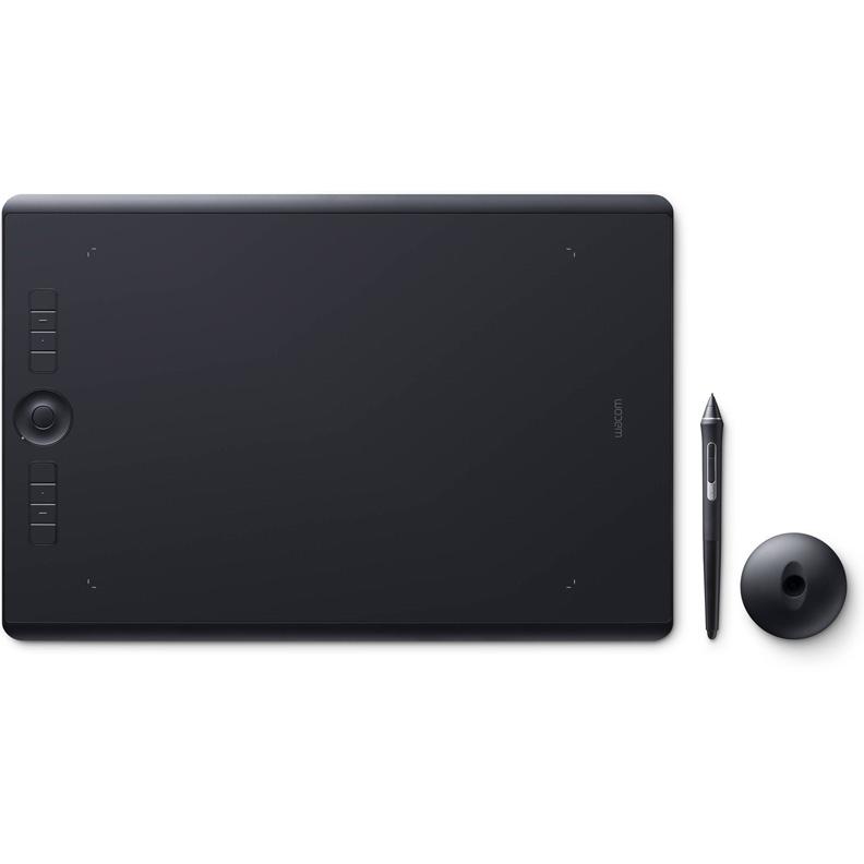 Графический планшет Wacom Intuos Pro PTH-860-R#PAINTER2018 Bluetooth/USB черный