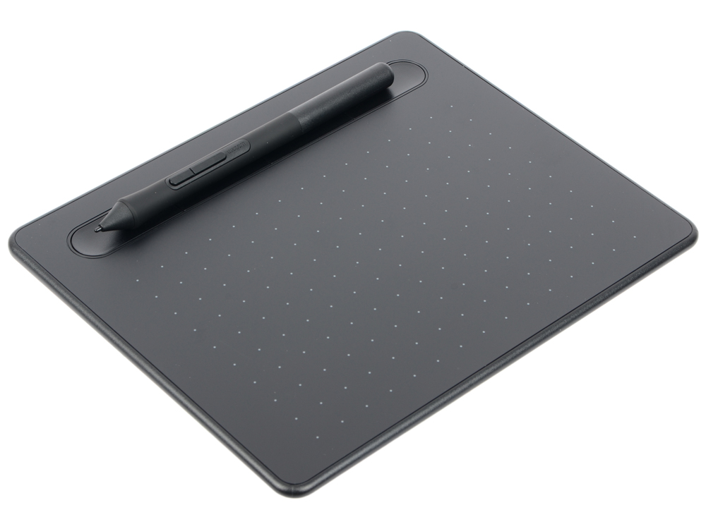 Графический планшет Wacom Intuos S Bluetooth Black (CTL-4100WLK-N) графический планшет wacom intuos art creative pen and touch tablet m cth 690ck n black