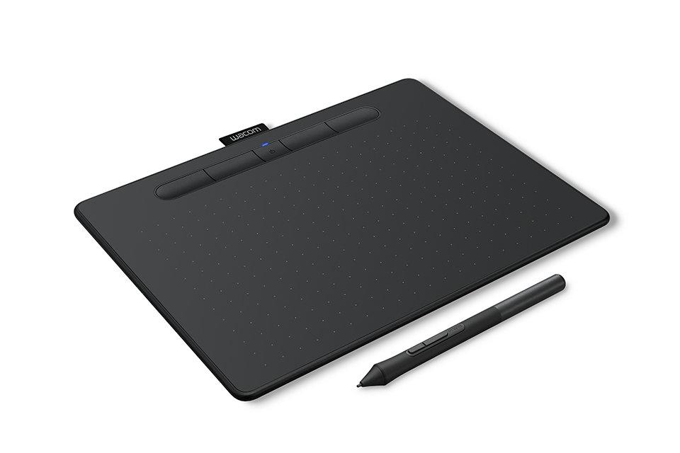 Графический планшет Wacom Intuos M Bluetooth Black (CTL-6100WLK-N) планшет для рисования wacom intuos pro l pth 860 r bluetooth usb