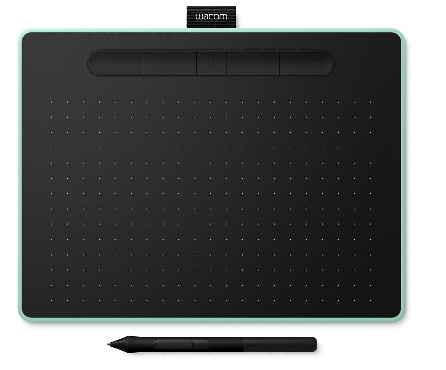 Графический планшет Wacom Intuos M Bluetooth Pistachio (CTL-6100WLE-N) графический планшет wacom intuos m bluetooth pistachio цвет фисташковый
