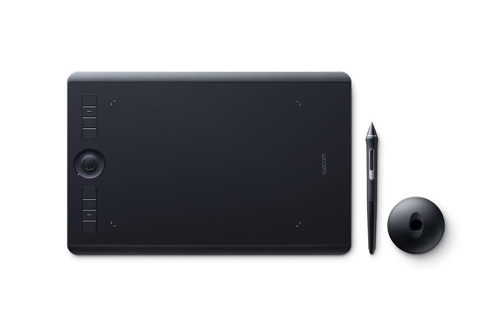 Графический планшет Wacom Intuos Pro Medium PTH-660-R + Corel Painter 2018 цены онлайн