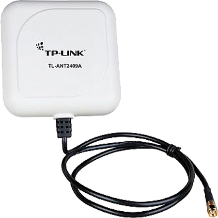 Антенна TP-LINK TL-ANT2409A 2.4GHz 9dBi Outdoor Yagi-directional Antenna 900 950mhz gsm network 9 11dbi directional high gain 7 unit antenna n female