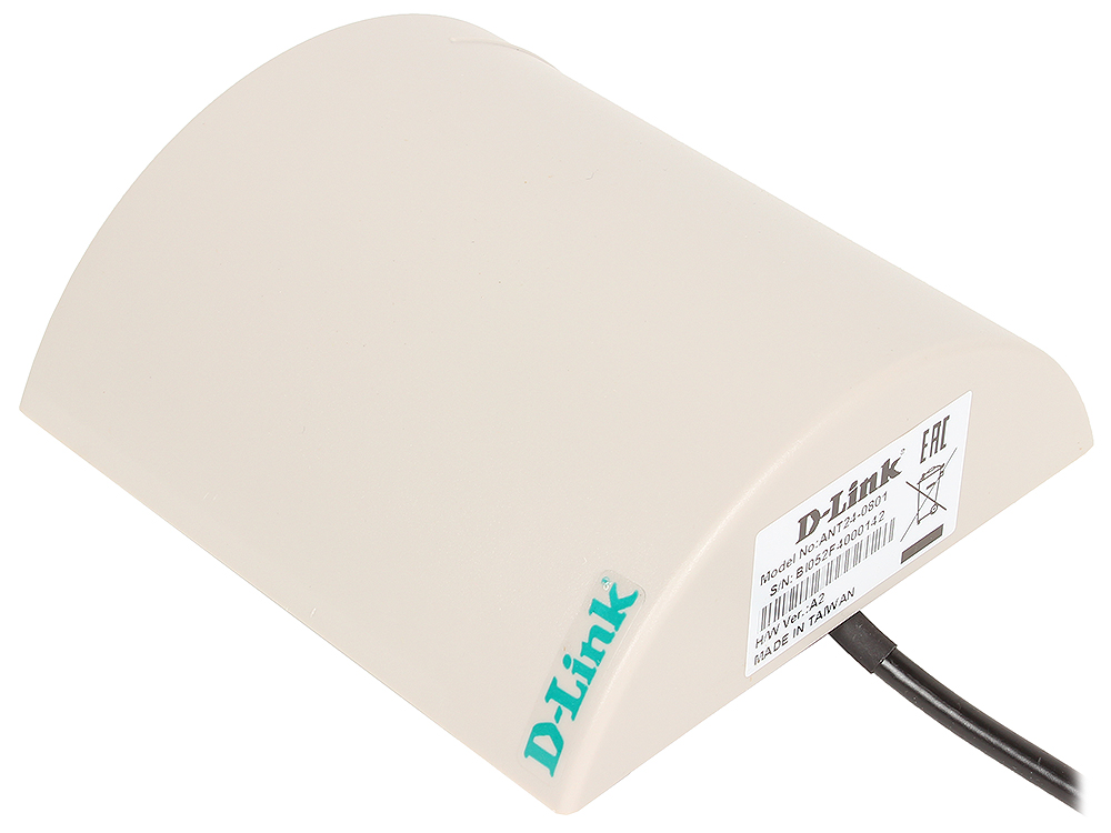Антенна D-Link ANT24-0801 Всенаправленная антенна с высоким коэффициентом усиления 7dBi антенна d link ant24 0800 8dbi 360deg внешняя всенаправленная