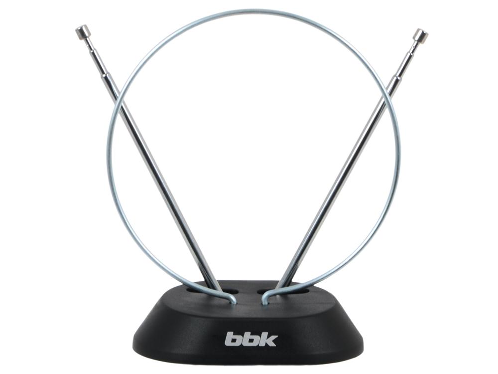 Фото - Телевизионная антенна BBK DA01 Комнатная цифровая DVB-T антенна, черный антенна bbk da03