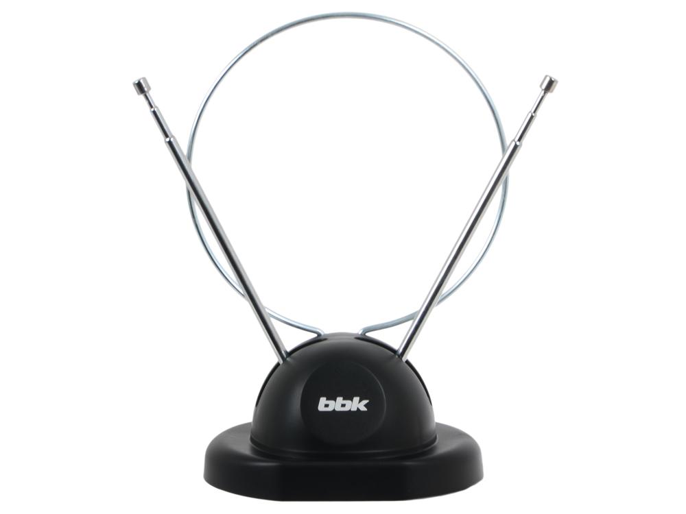Фото - Телевизионная антенна BBK DA02 Комнатная цифровая DVB-T антенна, черный антенна bbk da03