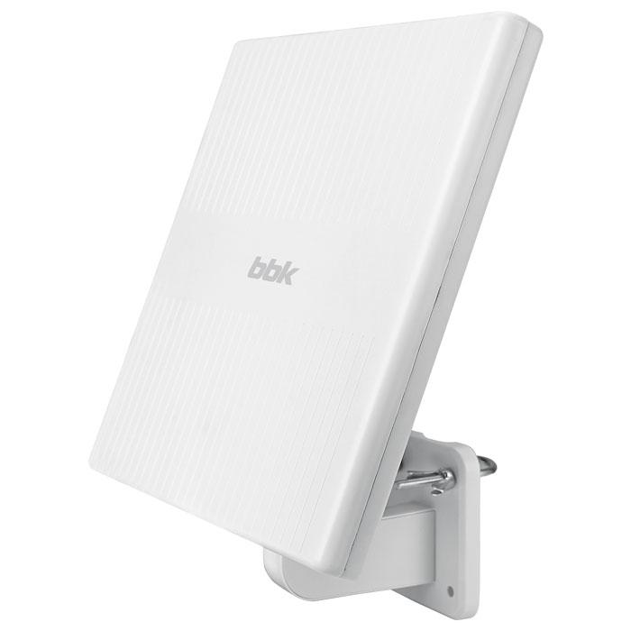 Телевизионная антенна BBK DA34 Комнатная цифровая DVB-T2 антенна, белый