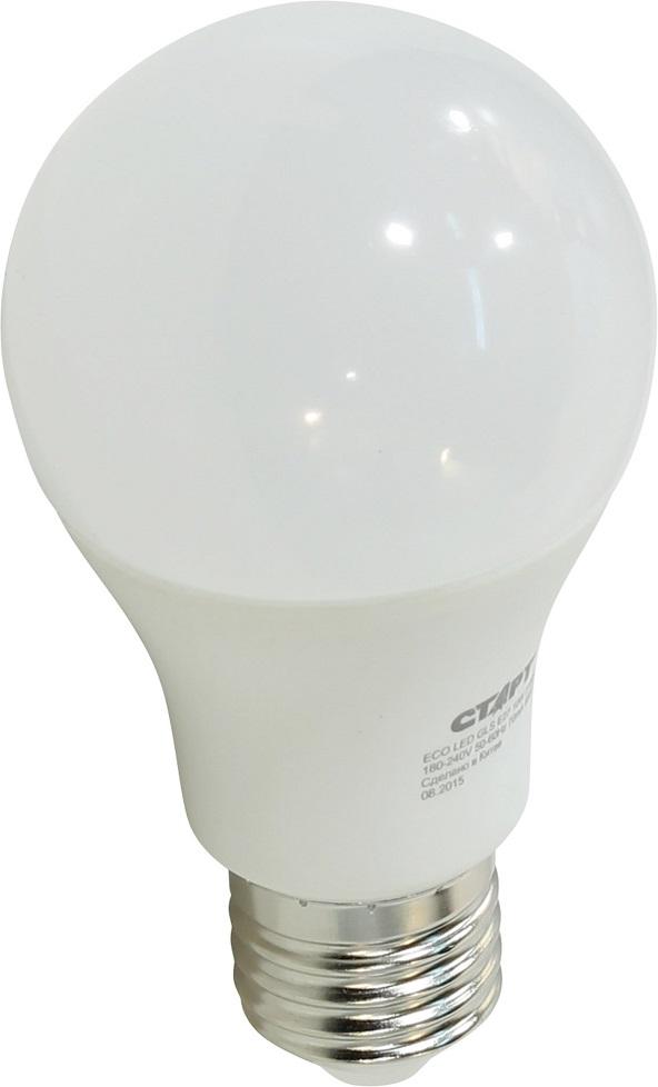 Энергосберегающая лампа СТАРТ GLS (E27, теплый)