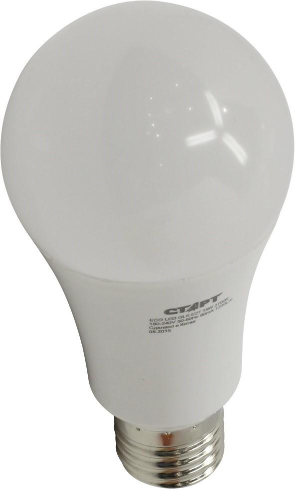 Энергосберегающая лампа СТАРТ ECO LED GLS (E27 15W 30 теплый)