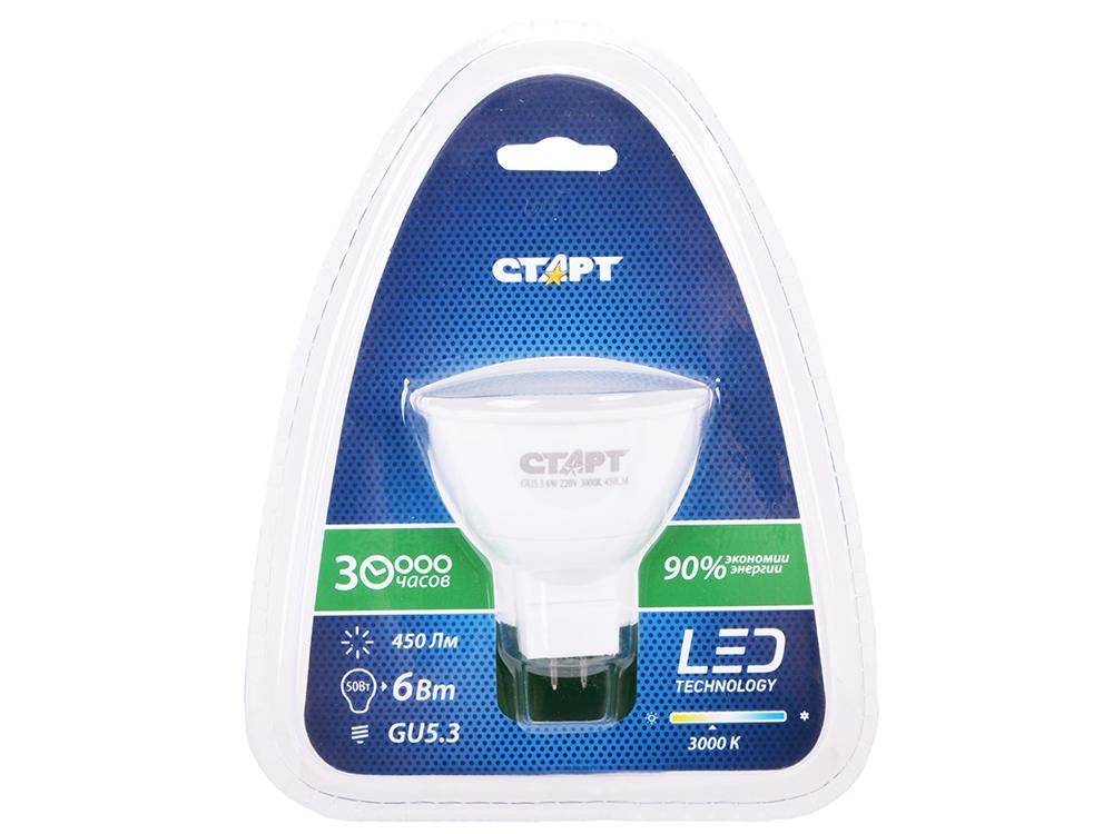 Энергосберегающая лампа СТАРТ LED JCDR (GU5.3 6W30 теплый)