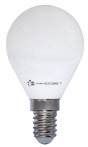 Энергосберегающая лампа НАНОСВЕТ L128 (E14/827 EcoLed)