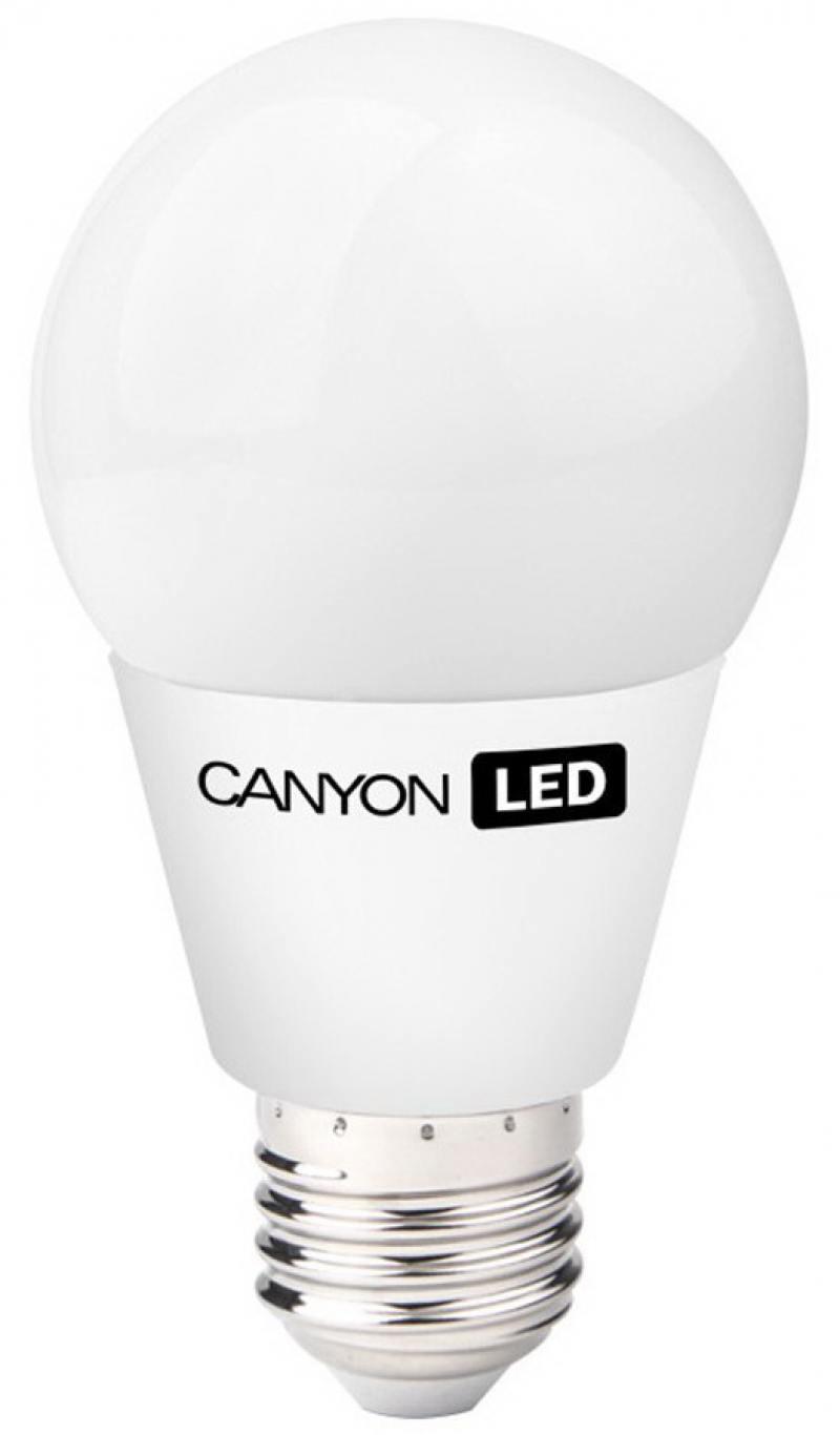 Лампа светодиодная шар Canyon E27 6W 2700K (AE27FR6W230VW)