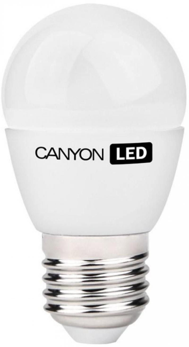 Лампа светодиодная шар Canyon E27 6W 2700K (PE27FR6W230VW)