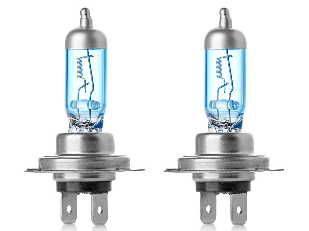 Лампа Галогеновая с эффектом ксенона 6000К H7(Clearlight)12V-55W XenonVision (2 шт.)