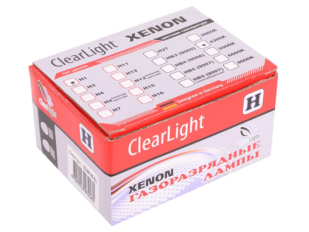 Комплект ламп ксеноновых Clearlight H1 4300K (2шт.)