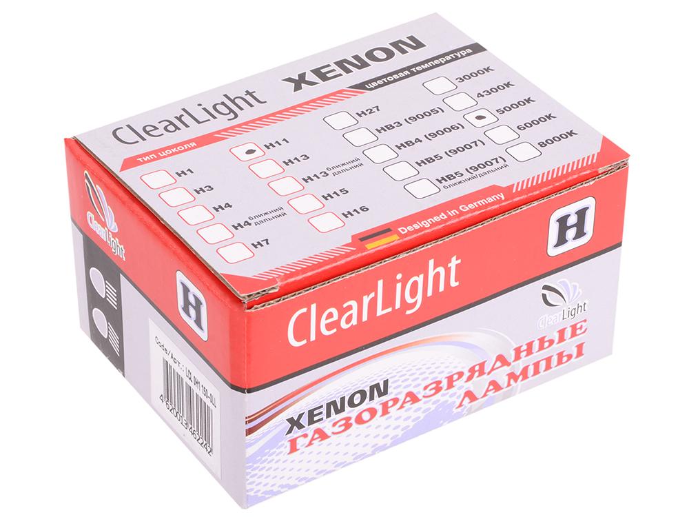 Комплект ламп ксеноновых Clearlight H11 (H8,H9) 5000K (2шт.)