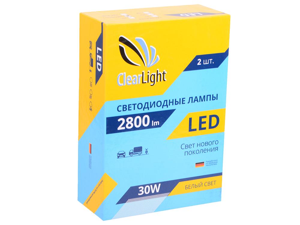 Лампа светодиодная LED  Clearlight H11 2800 lm ( 2 шт)
